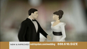 Nutrisystem TV Spot, 'Wedding Cake' - Thumbnail 8