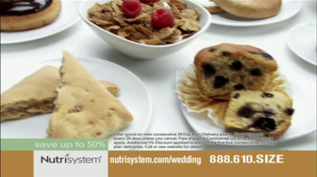 Nutrisystem TV Spot, 'Wedding Cake' - Thumbnail 4