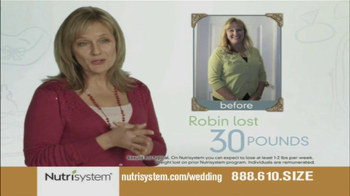 Nutrisystem TV Spot, 'Wedding Cake' - Thumbnail 6