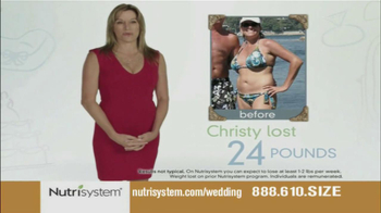 Nutrisystem TV Spot, 'Wedding Cake' - Thumbnail 7