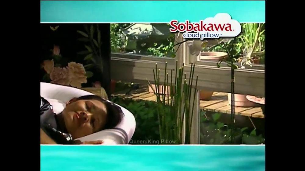 Sobakawa Cloud Pillow TV Commercial, 'Egg Test'