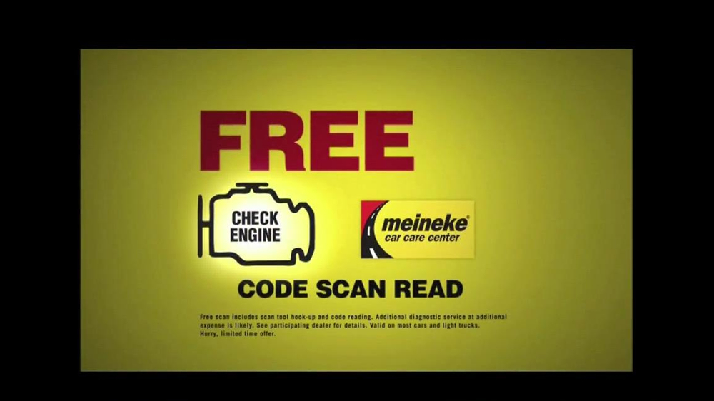 Meineke Car Care Centers Tv Commercial Check Engine