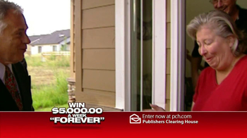 Publishers Clearing House TV Spot, '$5000 a Week'  - Thumbnail 4