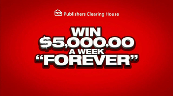 Publishers Clearing House TV Spot, '$5000 a Week'  - Thumbnail 5