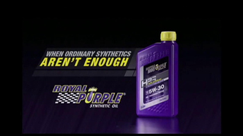 Royal Purple HPS TV Spot