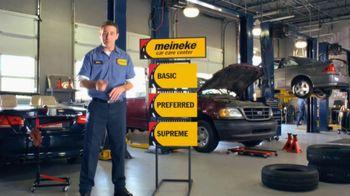Meineke Oil Changes TV Spot, 'Options'