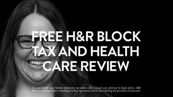 H&R Block TV Spot, 'Free Tax and Health Care Review' - Thumbnail 6