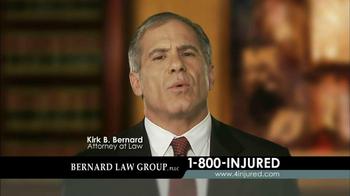 Bernard Law Group TV Spot 'Injury' - Thumbnail 2