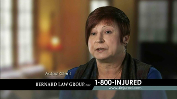 Bernard Law Group TV Spot 'Injury' - Thumbnail 3