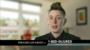 Bernard Law Group TV Spot 'Injury' - Thumbnail 4