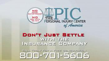 The Personal Injury Center TV Spot, 'Auto Injury' - Thumbnail 9