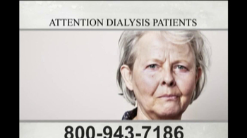 Feazell and Tighe TV Spot, \'Dialysis Patients\'