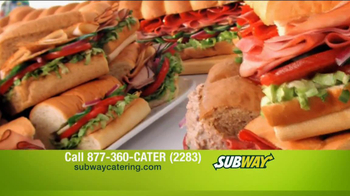 Subway Catering TV Spot, 'Feed Them All' Featuring Mike Lee - 56 commercial airings