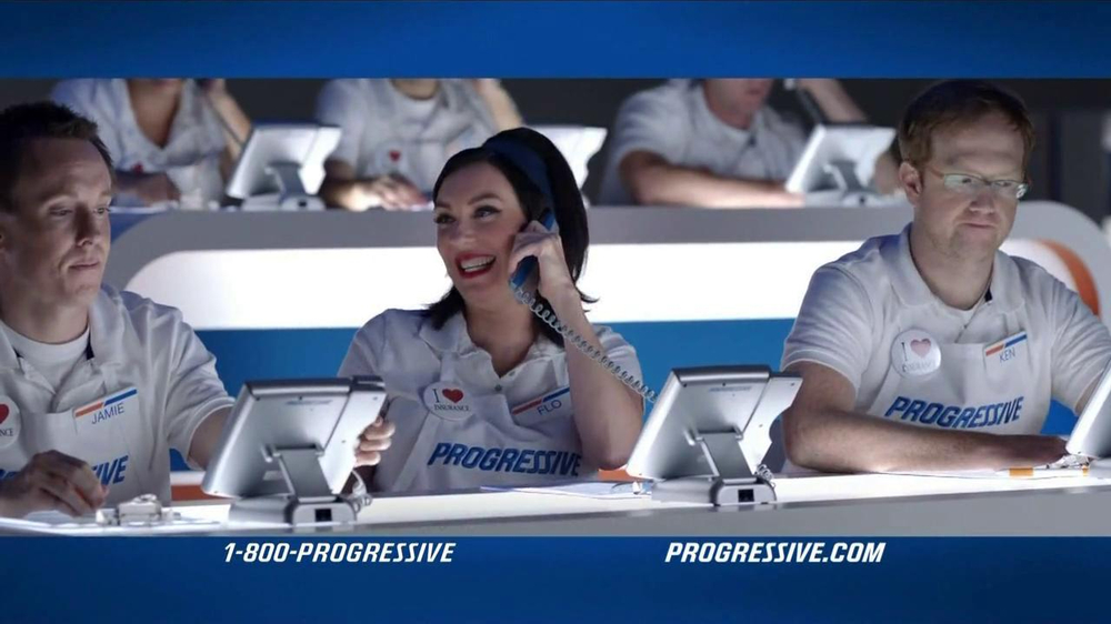 Progressive TV Commercial, 'Whose Turn to Answer'