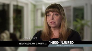 Bernard Law Group TV Spot, 'Auto Accident' - Thumbnail 2