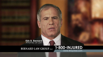 Bernard Law Group TV Spot, 'Auto Accident' - Thumbnail 4