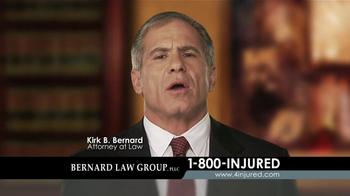 Bernard Law Group TV Spot, 'Auto Accident' - Thumbnail 6
