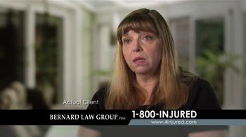 Bernard Law Group TV Spot, 'Auto Accident' - Thumbnail 8