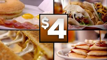 Denny's 2, 4, 6, 8 Value Menu TV Spot, '$4-Sweater' - Thumbnail 9