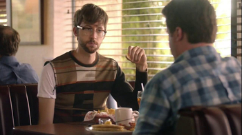 Denny's 2, 4, 6, 8 Value Menu TV Spot, '$4-Sweater'