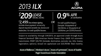 2013 Acura ILX TV Spot, 'Forbes Review' - Thumbnail 9