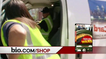 Bio Channel TV Spot, 'Paranormal State, Man Hunters, Parking Wars' - Thumbnail 9