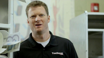 TaxSlayer.com TV Spot Featuring Dale Earnhardt Jr. - Thumbnail 4