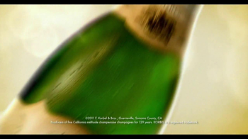 Korbel TV Spot, 'Holiday' - Thumbnail 1