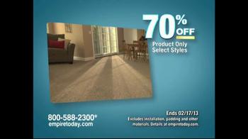 Empire Today Warehouse Sale TV Spot, '70% on Carpet'  - Thumbnail 2