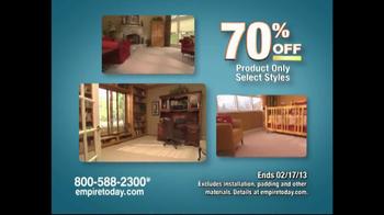 Empire Today Warehouse Sale TV Spot, '70% on Carpet'  - Thumbnail 3