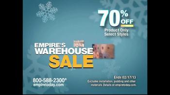 Empire Today Warehouse Sale TV Spot, '70% on Carpet'  - Thumbnail 6