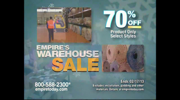 Empire Today Warehouse Sale TV Spot, '70% on Carpet'  - Thumbnail 7