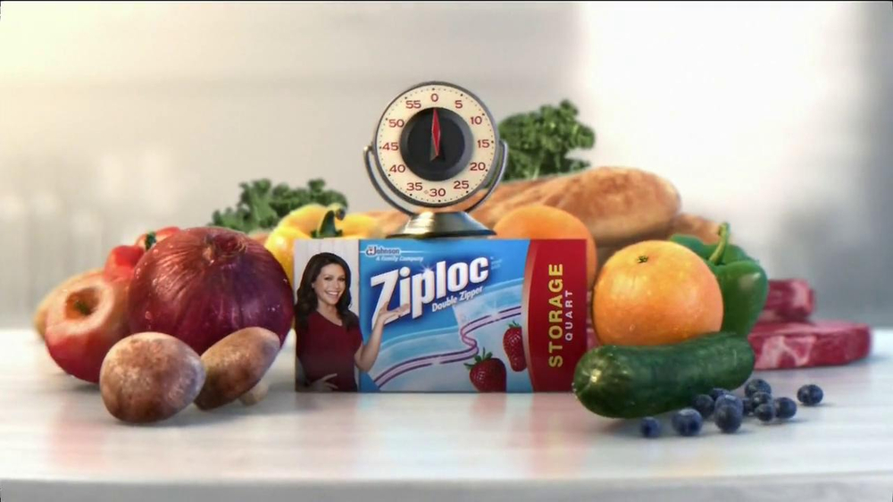 Ziploc Double Zipper TV Commercial, 'Fresh Forward' Featuring Rachael Ray