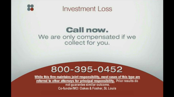 Sokolove Law, LLC TV Spot 'Investment Banking'  - Thumbnail 5