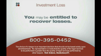 Sokolove Law, LLC TV Spot 'Investment Banking'  - Thumbnail 2
