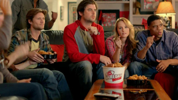 KFC Gameday Box TV Spot, 'Go Boom' - 2650 commercial airings