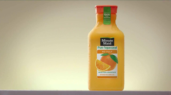 Minute Maid Pure Squeezed TV Spot, 'Cue Cards' Featuring Ty Burrell - Thumbnail 2