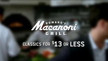 Romano's Macaroni Grill Italian Classics TV Spot - Thumbnail 8