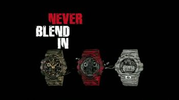 Casio G-Shock TV Spot, 'Never Blend In'