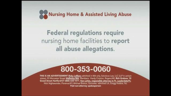 Sokolove Law TV Spot, 'Nursing Home and Assisted Living Abuse' - Thumbnail 1