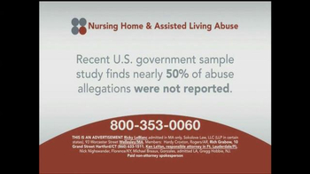 Sokolove Law TV Spot, 'Nursing Home and Assisted Living Abuse' - Thumbnail 2