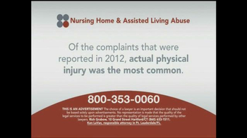 Sokolove Law TV Spot, 'Nursing Home and Assisted Living Abuse' - Thumbnail 4