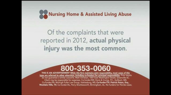 Sokolove Law TV Spot, 'Nursing Home and Assisted Living Abuse' - Thumbnail 5