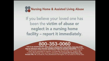 Sokolove Law TV Spot, 'Nursing Home and Assisted Living Abuse' - Thumbnail 7