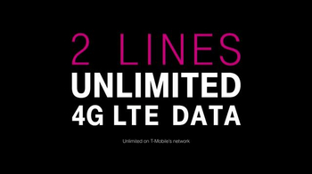 T-Mobile Unlimited 4G LTE Data TV Spot, 'Add the Family' - Thumbnail 4