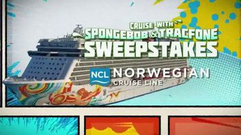 TracFone TV Spot, 'The SpongeBob Movie: Sponge Out of Water: Sweepstakes'