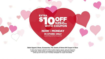 JCPenney Valentine's Day Huge Sale TV Spot, 'Lots to Love' - Thumbnail 3