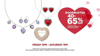 JCPenney Valentine's Day Huge Sale TV Spot, 'Lots to Love' - Thumbnail 5