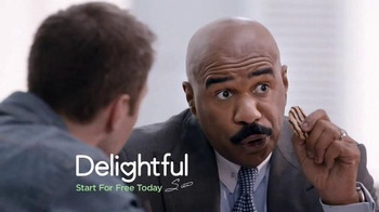 Delightful.com TV Spot, 'Do You Deserve the Cookie?' Featuring Steve Harvey - 445 commercial airings