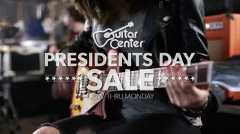 Guitar Center Presidents' Day Sale TV Spot, 'Your Tune' - Thumbnail 2